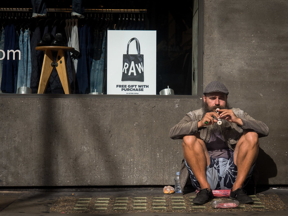 The Homeless Musician