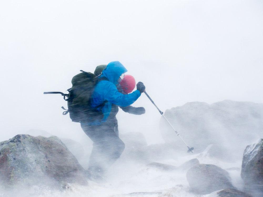 A Cairngorm Blizzard