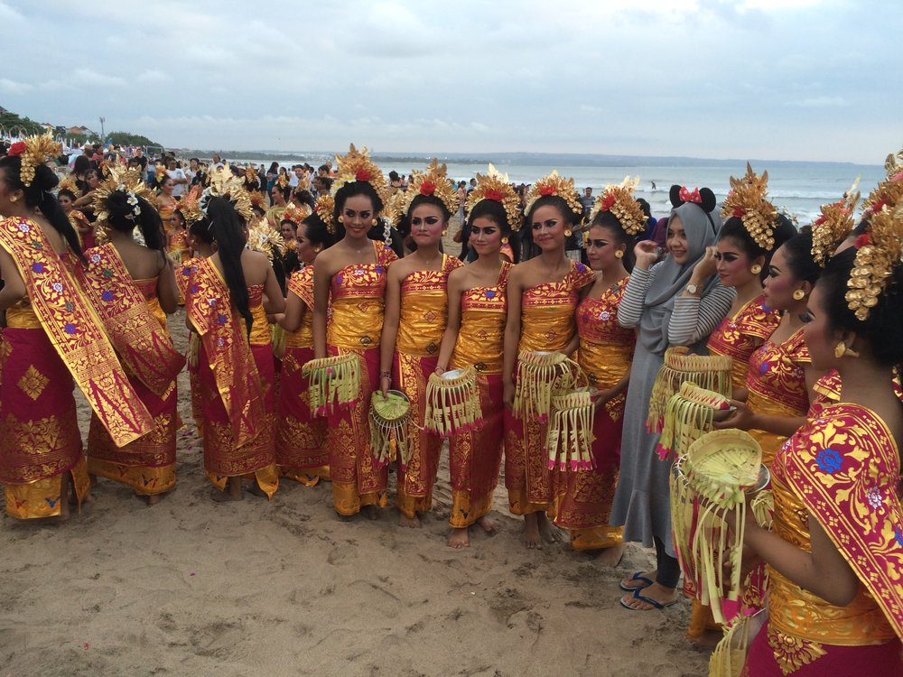 Legian Beach Festival dancers We the lost girls
