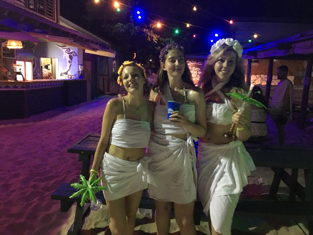 Spring Break toga party