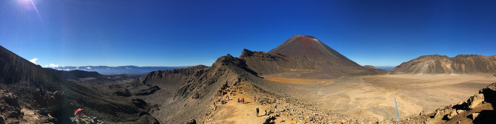 The Tongariro Crossing 1