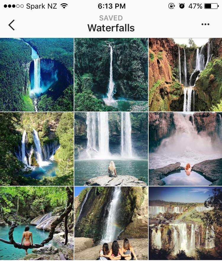 Yes, I have a whole album on Instagram of waterfall shots ;)