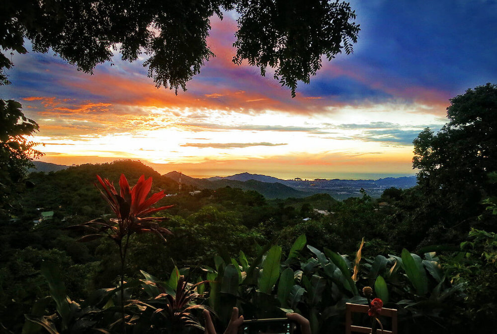 Sunset in Colombia. Photo: Practical Wanderlust