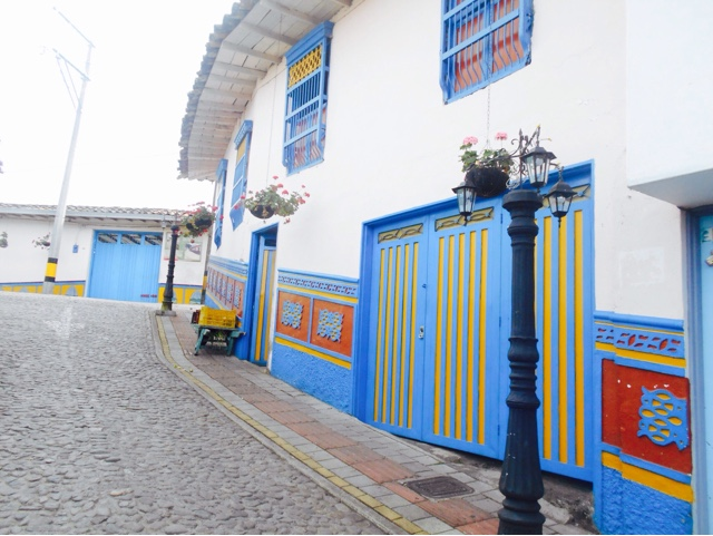 The colourful buildings of Guatape, Colombia. Photo: travelsandmore