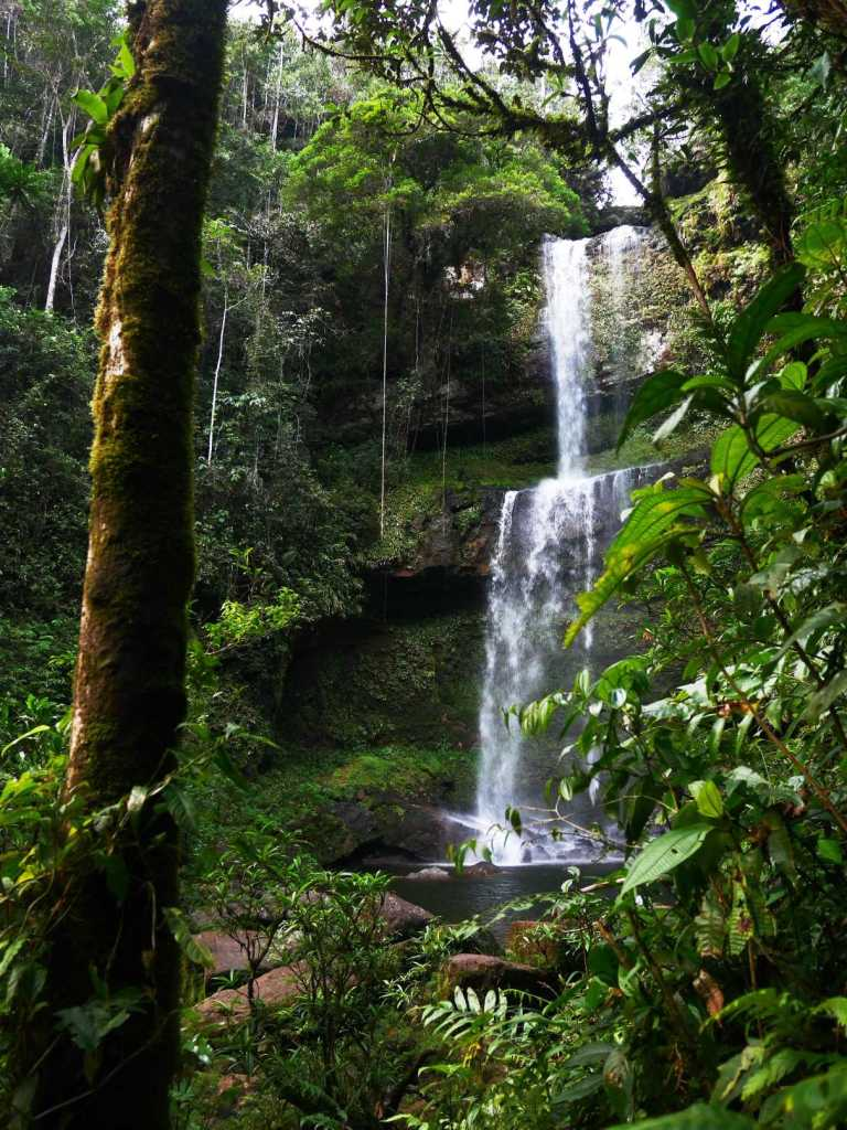 Hornoyaco Waterfall, Colombia. Photo: Girl Astray.