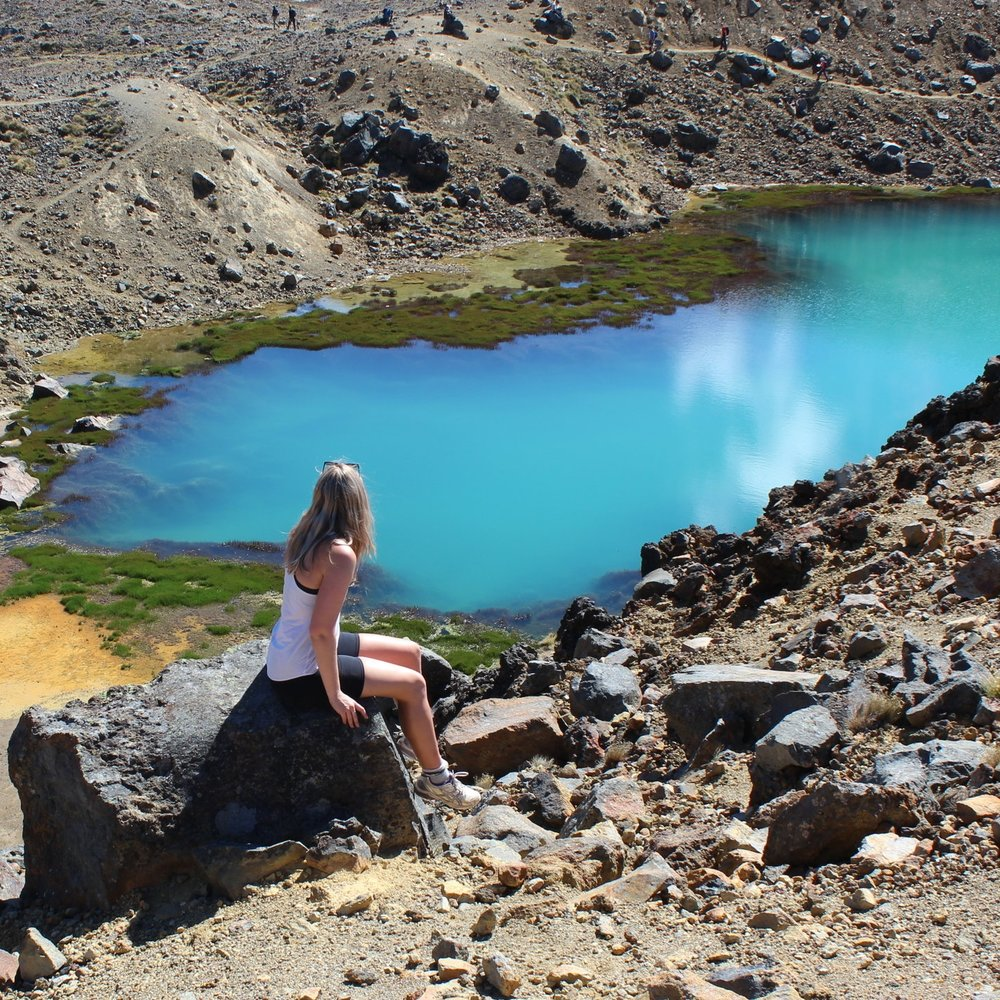 Ultimate New Zealand Bucket list Tongariro Crossing