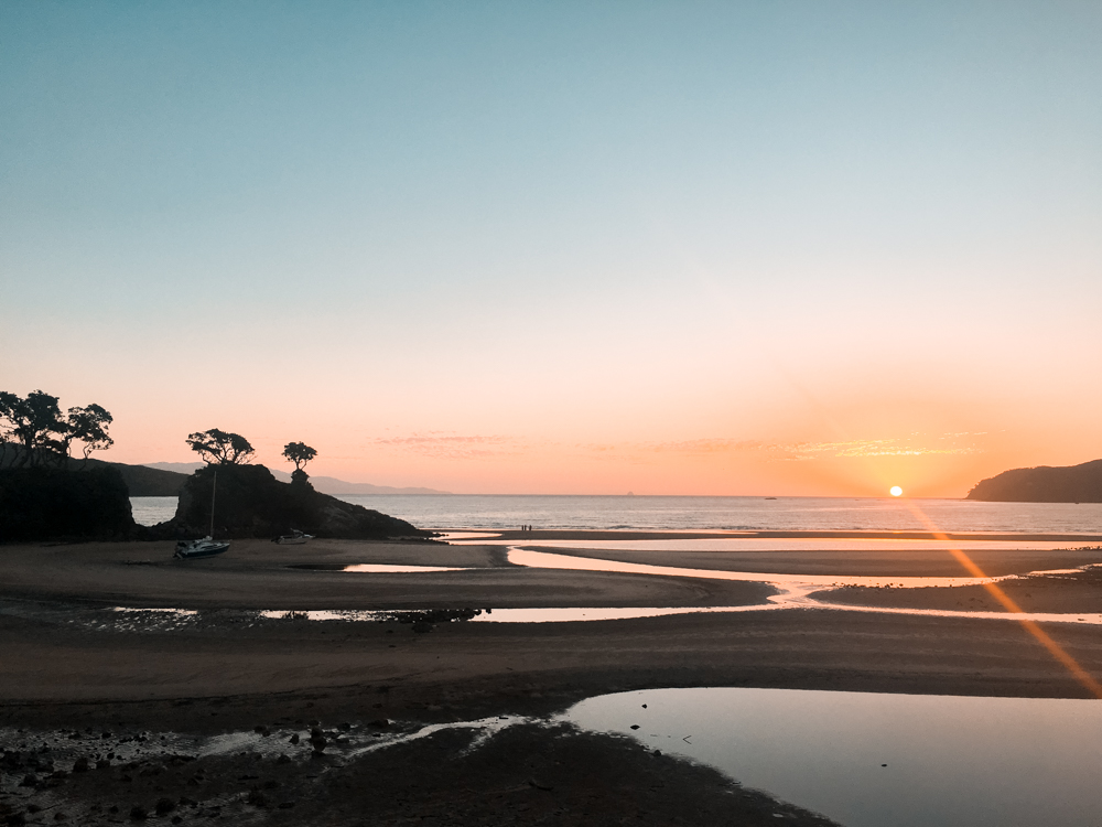 The sunsets on Great Barrier Island were definitely amongst the highlights of the year for me!