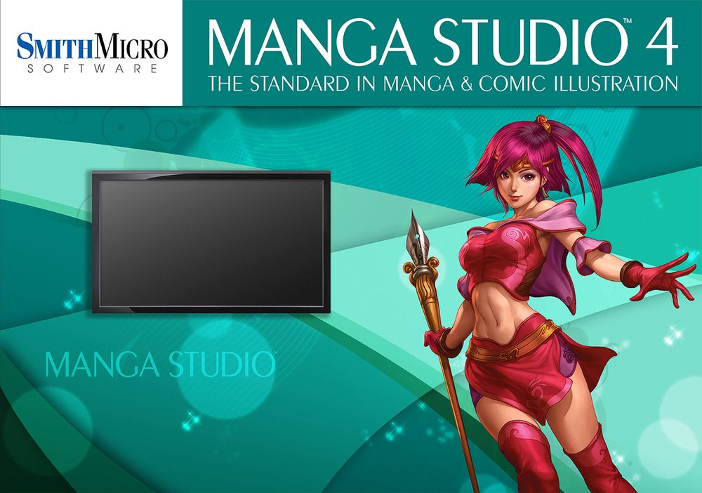 Manga Studio workstation.
