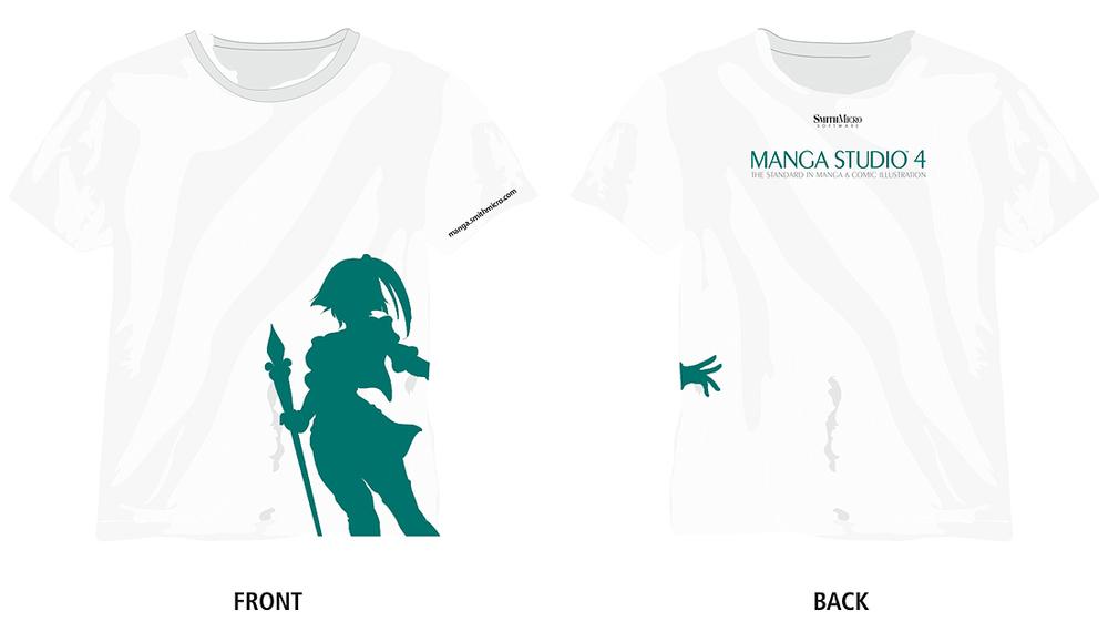 Manga tshirt