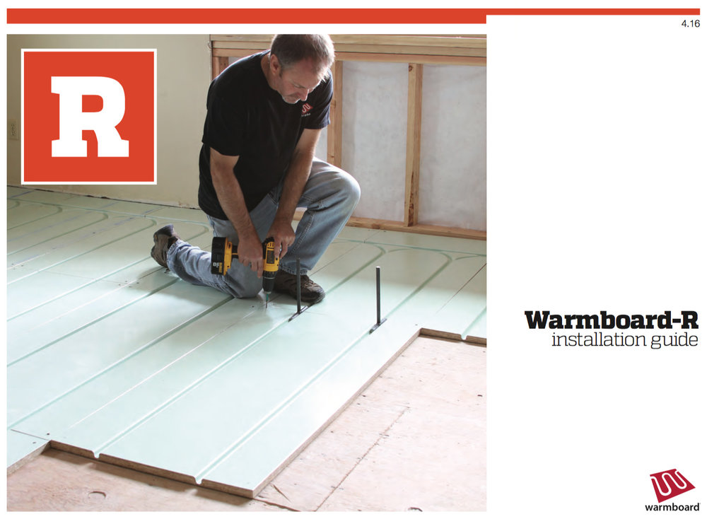Warmboard-R Installation Guide