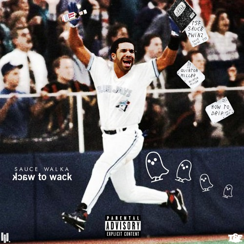 "Sauce Walka ""Wack 2 Wack"" single campaign"