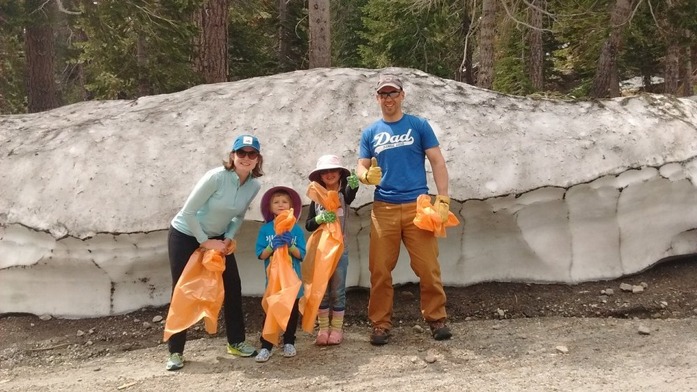 Mammoth Town Clean Up Day, June 2017