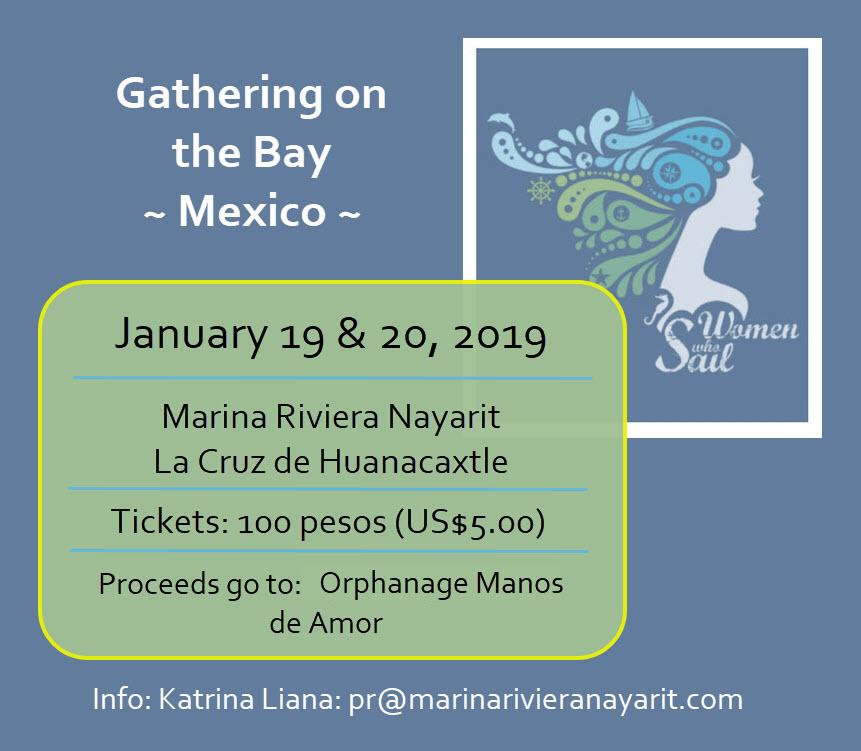 Women Who Sail - Mexico January 2019