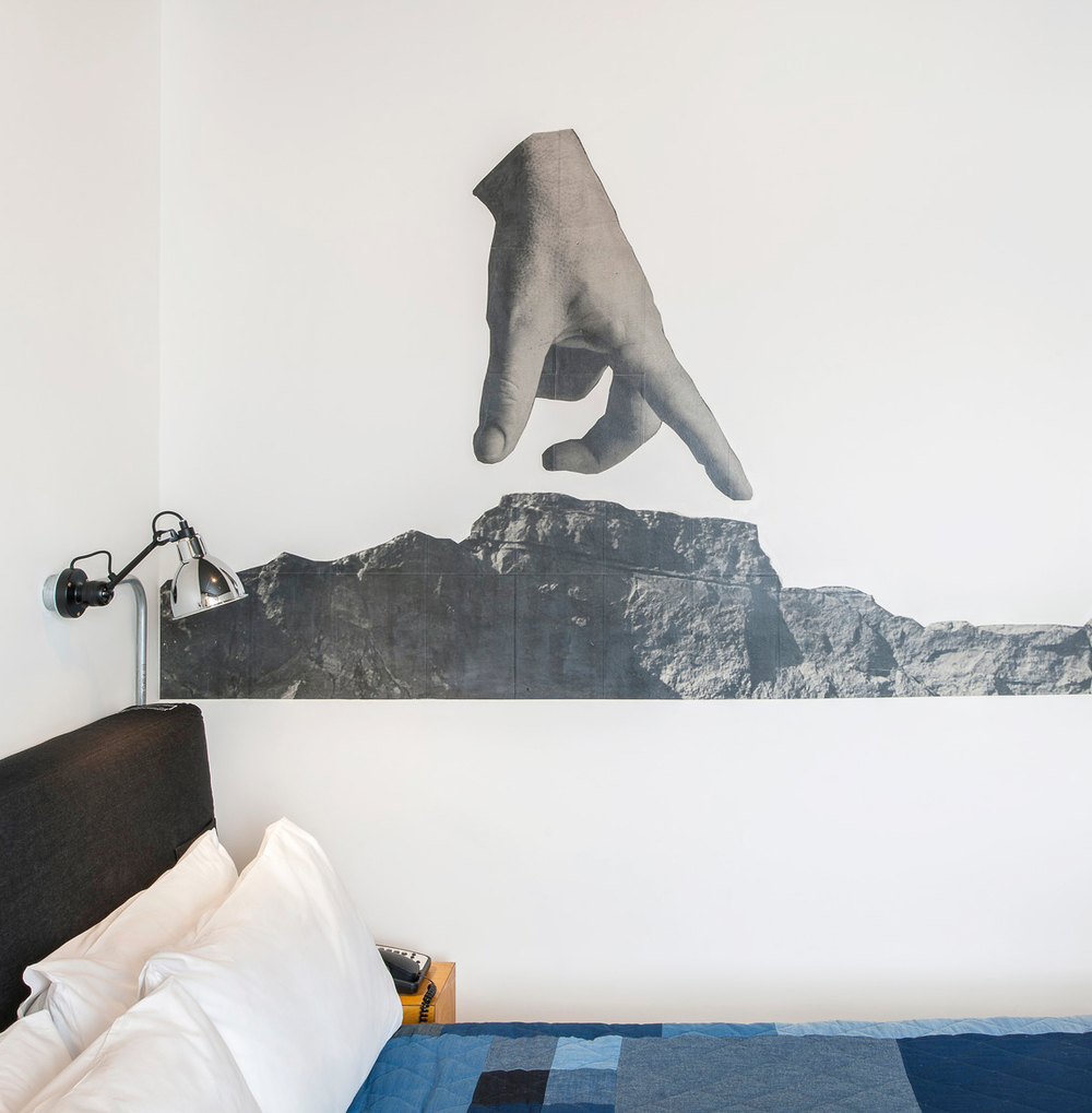 Ace Hotel London — Mural