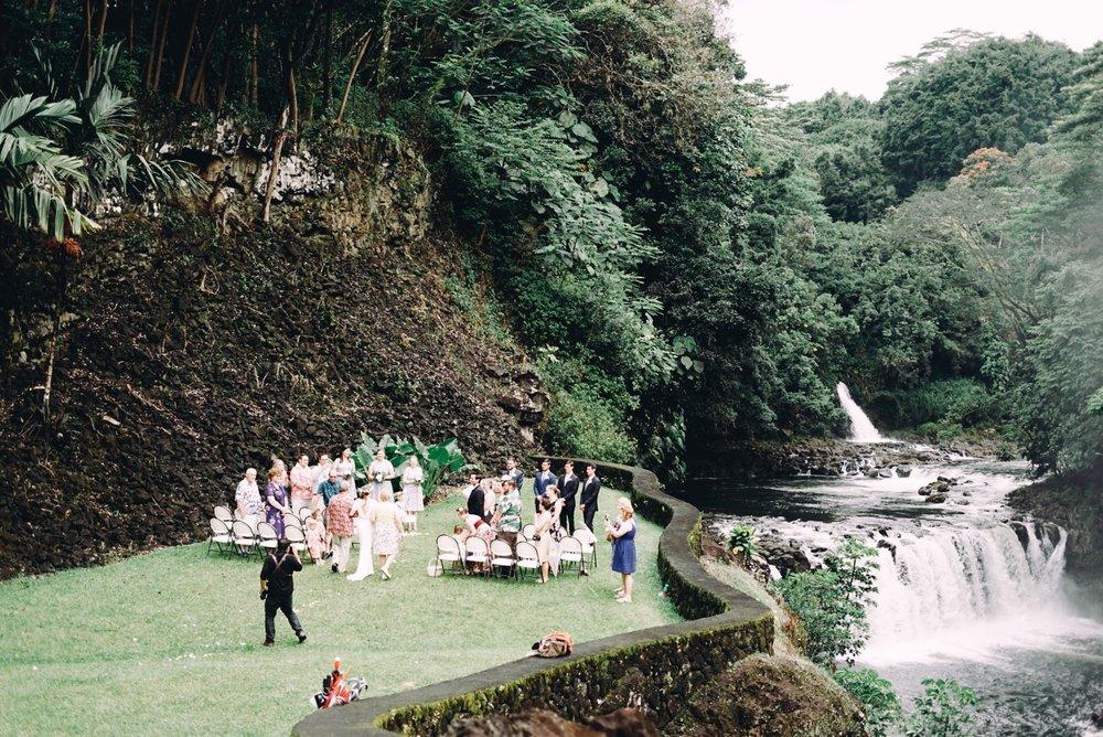 Reeds Island Hilo Wedding