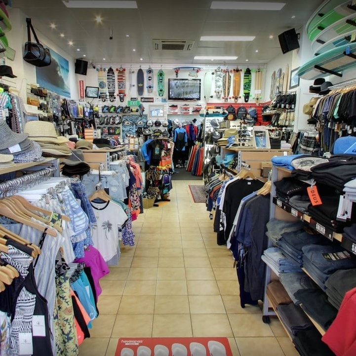 We stock the latest mens, womens and kids clothing and gear from a large range of surf and fashion brands.    -> Explore Products and Brands