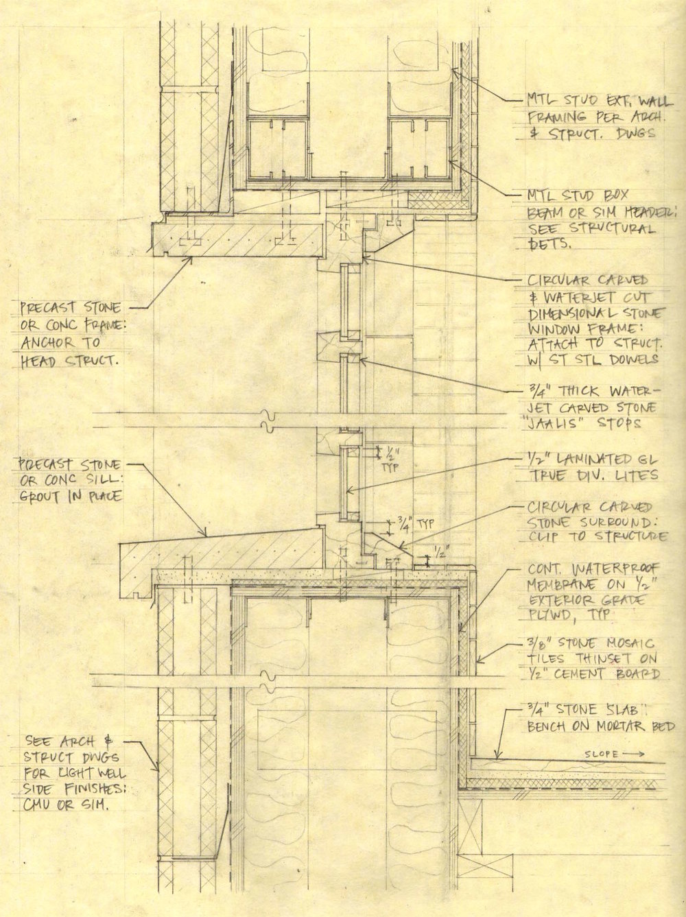 Process Peter Benoit Architect Inc Hvac Drawing Review Coordination Sketch With Subcontractor