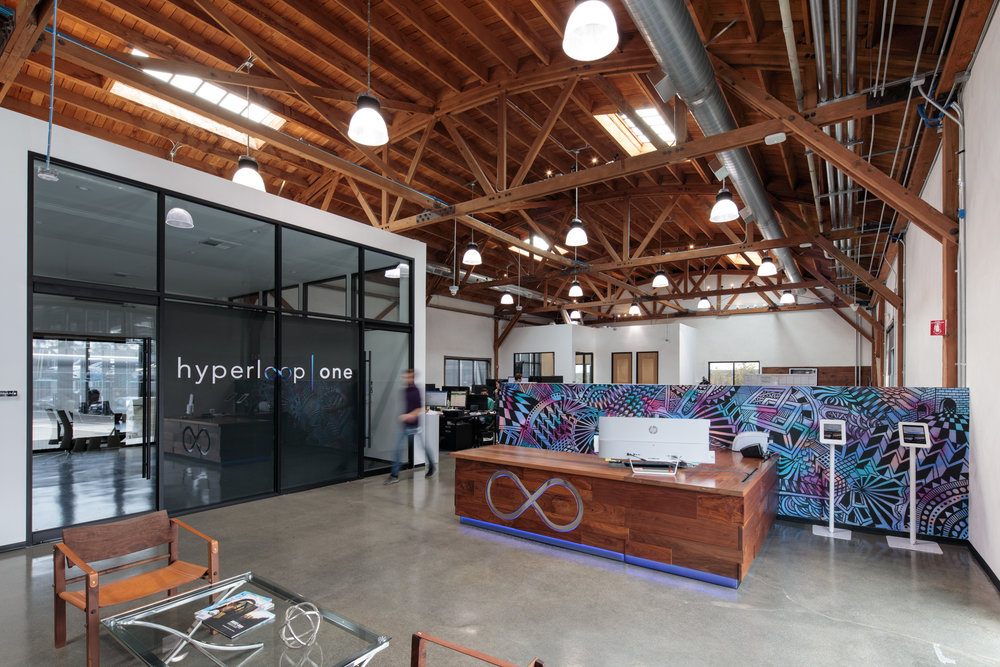 HYPERLOOP ONE HQ / HYPERLOOP ONE BAY STREET