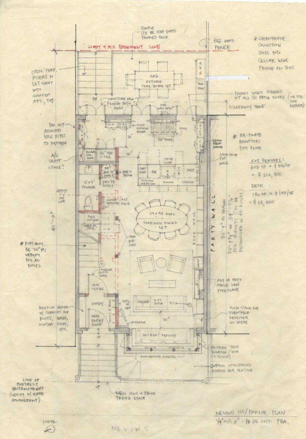 CONCEPTUAL FLOOR PLAN FOR A HOUSE
