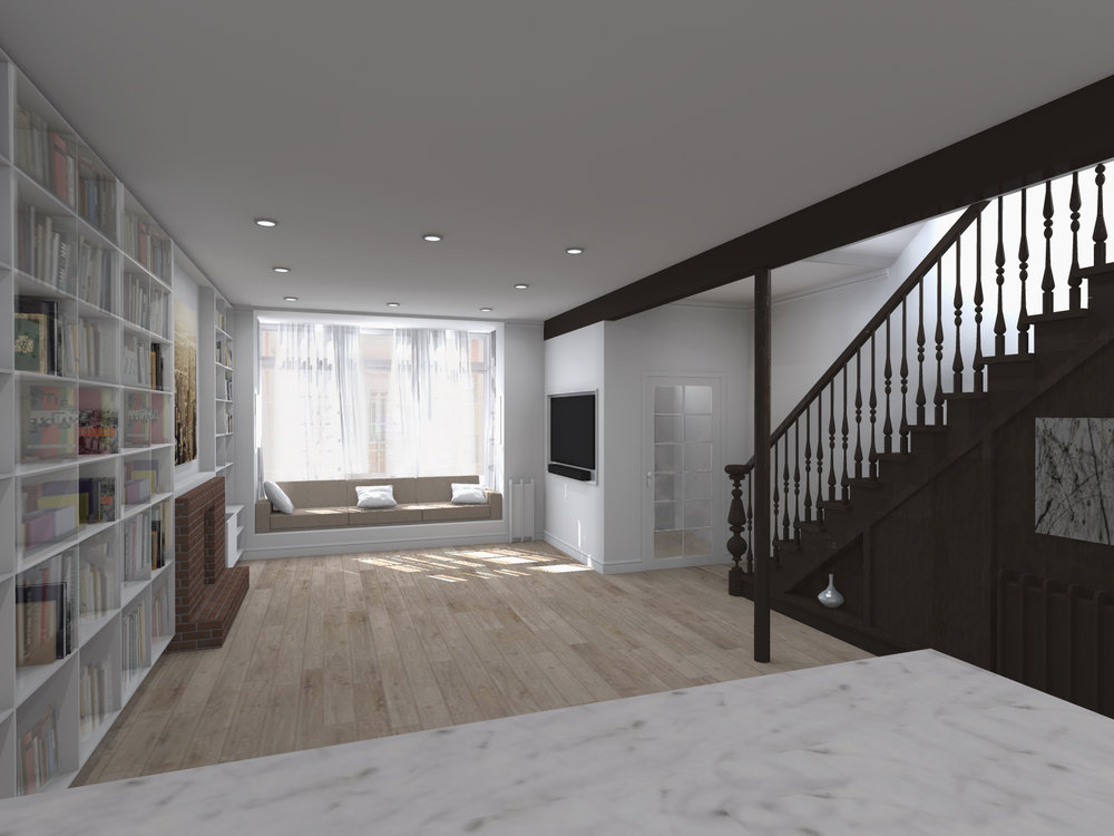 PROPOSED DINING & KITCHEN AREA