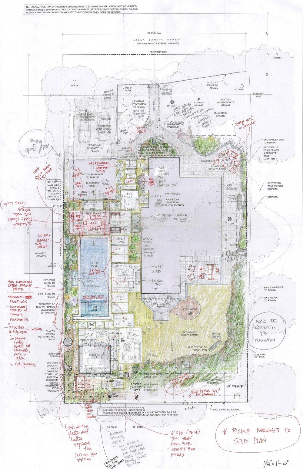 FAIRY HOUSE LANDSCAPE CONCEPT