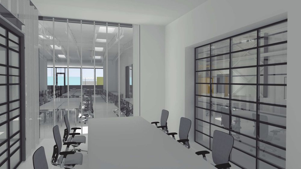 ENCLOSED CONFERENCE SPACE