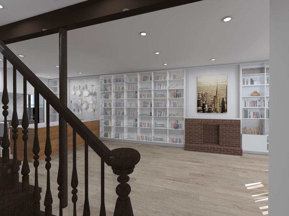 6. Living room 1st floor (bookshelves).jpg