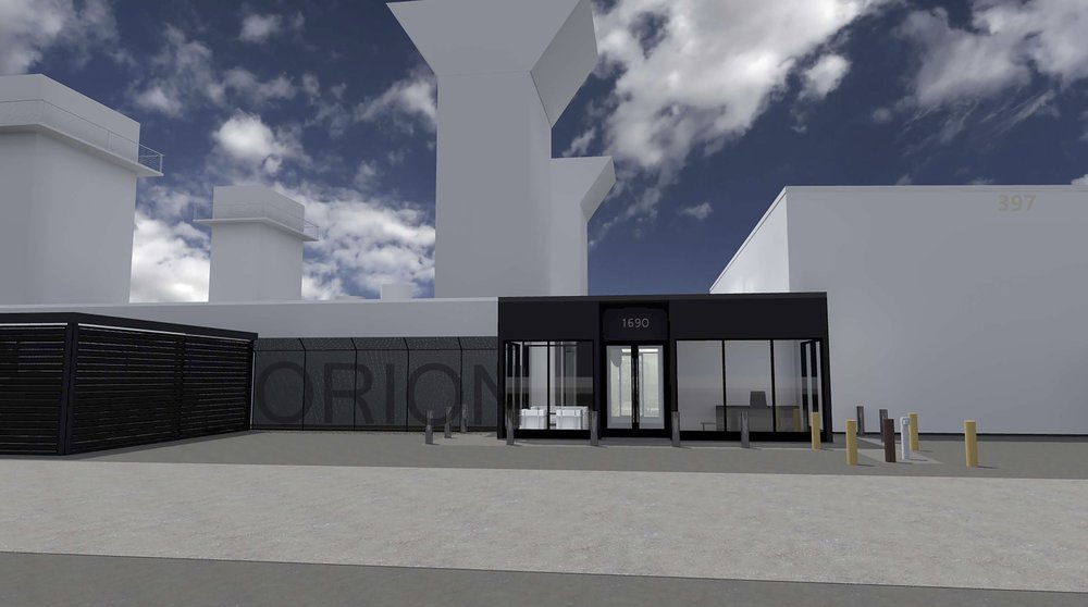 ORION HQ ENTRY- DAYTIME
