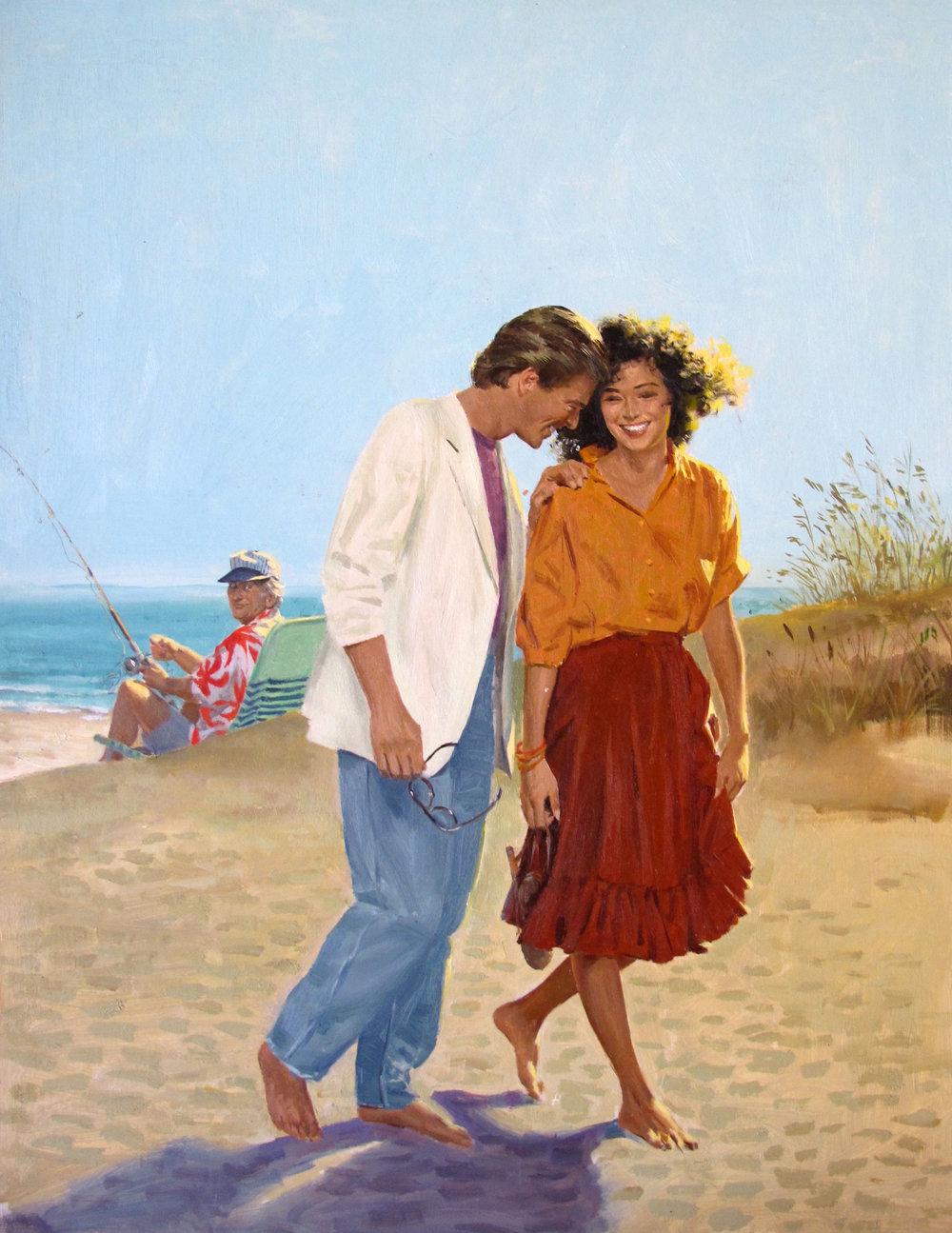 """Gypsy Enchantment – 13.5""""x18"""" – oil **"""