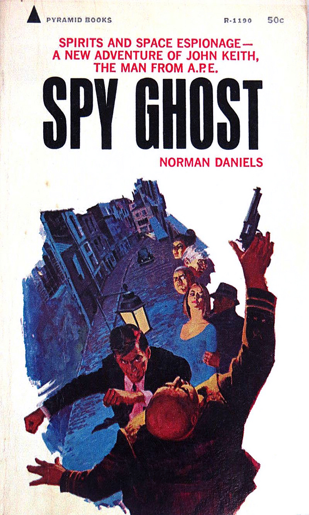 "Cover Art for ""Spy Ghost"" – Pyramid Books"