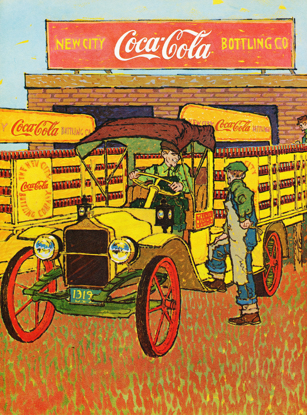 Illustration for Coca Cola's Refresher Magazine, 75th Anniversary Edition