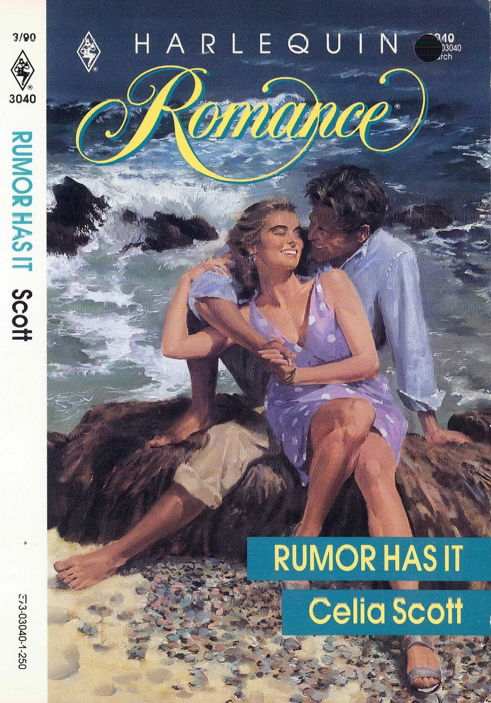 Rumor Has It by Celia Scott, as it appeared to the reader.