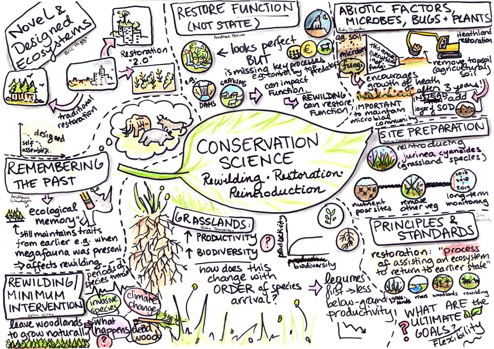 Conservation Science: Reintroductions, Restoration & Rewilding