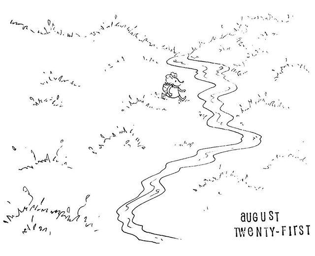 (233/365) Splish splash! . #mouse #maus #themousetales #dailymice #hike #dayhike #forest #wald #comic #comics #comicart #comicstrip #drawing #dailydrawing #dailyart #dailydoodle #womenwhodraw #illustration #art #ink #penandink #penandinkdrawing #graphicstorytelling #visualstorytelling #dailystory