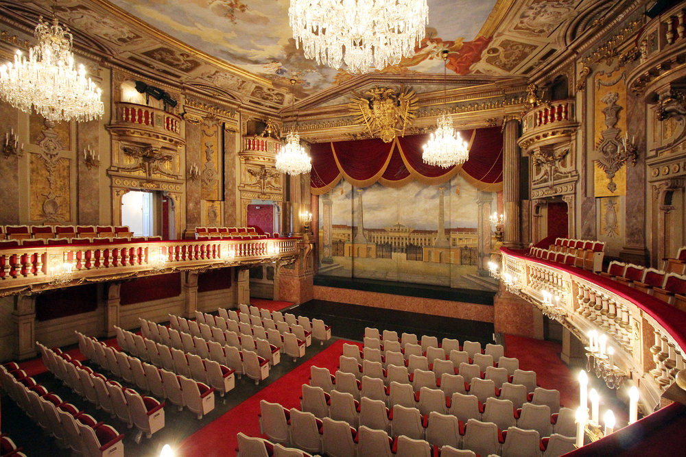 Theatre at Castle Schoenbrunn, Vienna