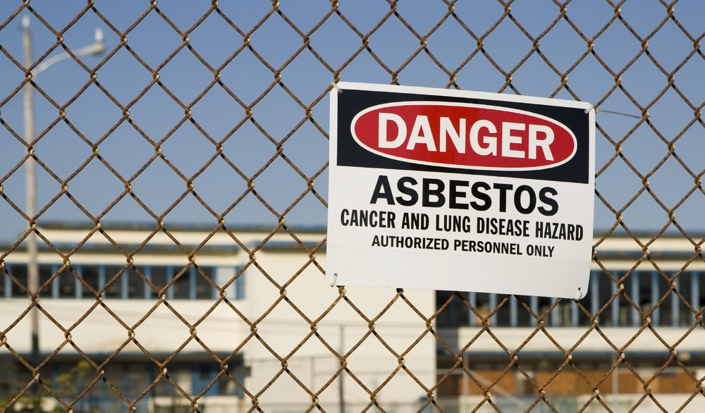 Asbestos Warning Sign, Dubai