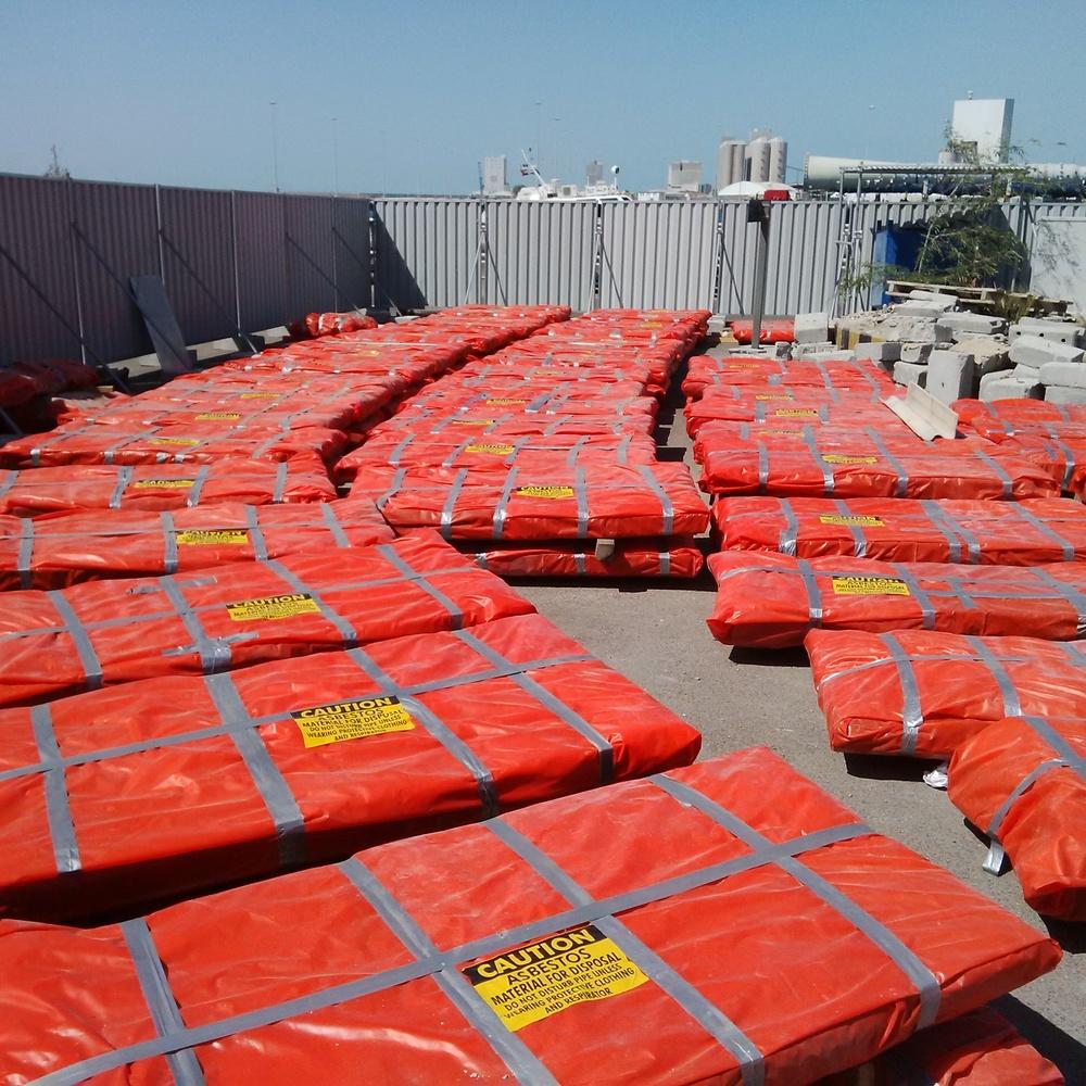 Asbestos Waste Removal, Abu Dhabi, UAE