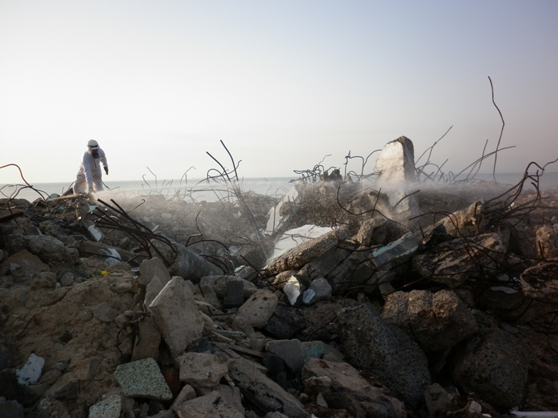 Asbestos Contaminated Land, Oman
