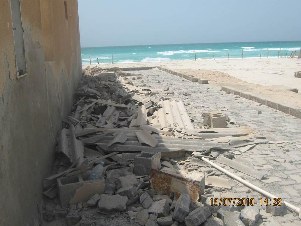 Asbestos Cement Debris, Abu Dhabi, UAE