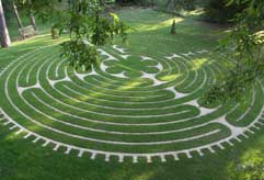 The Labyrinth at Tofte Manor