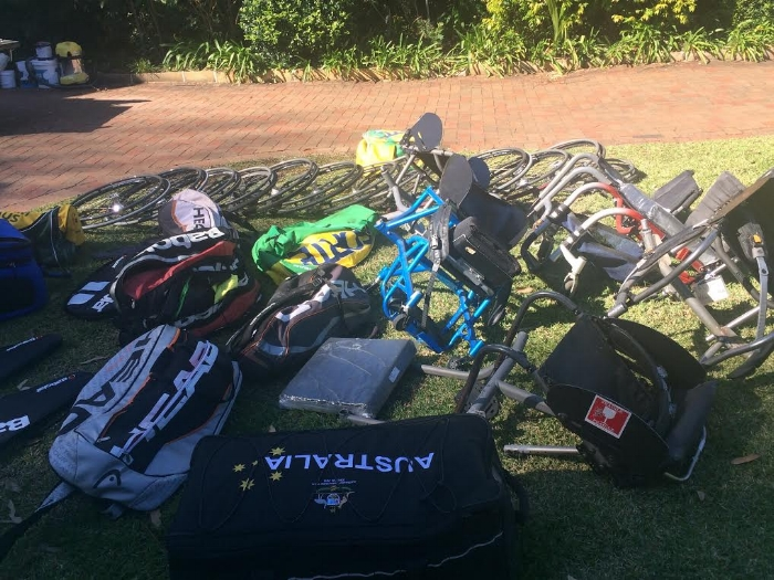 Equipment from my garage to send to Tanzania