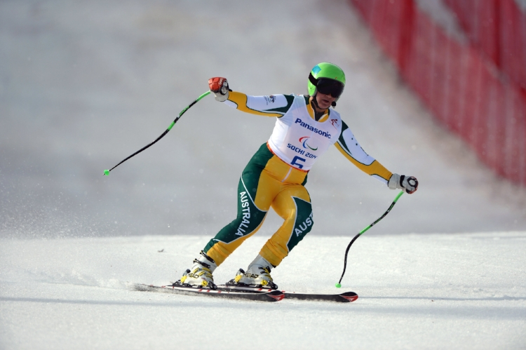 Photo courtesy of the Australian Paralympic Committee