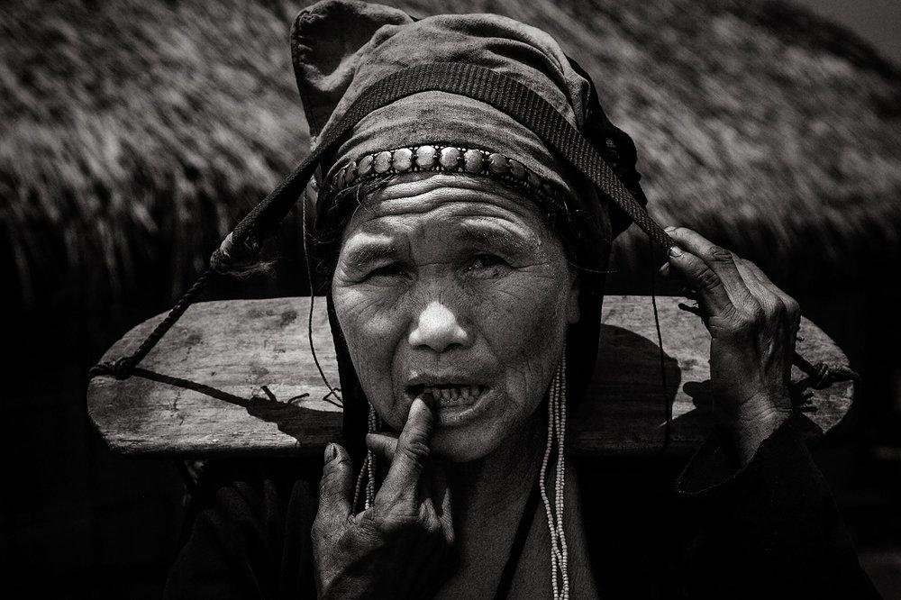 Ethnic Lao woman, Northern Laos.