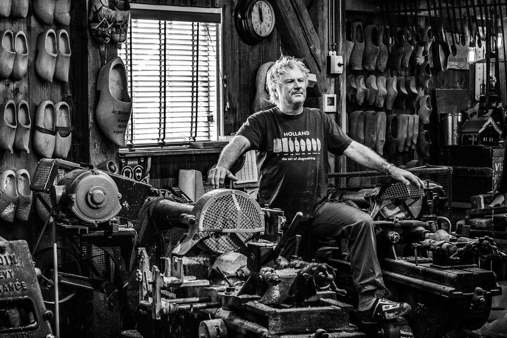 The art of clog making, The Zaanse Schans