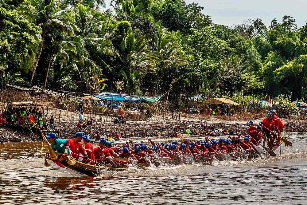 Boat Race Festival Luang Prabang, Laos