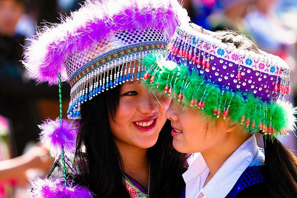 Hmong New Year, Luang Prabang, Lao PDR