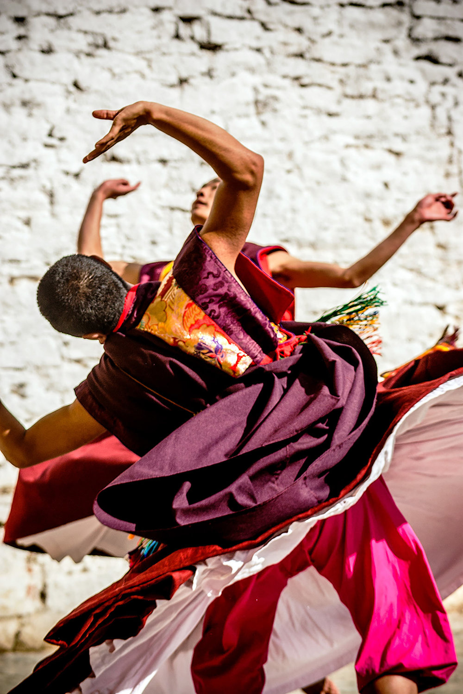 Trongsa Tshechu, Bhutan.