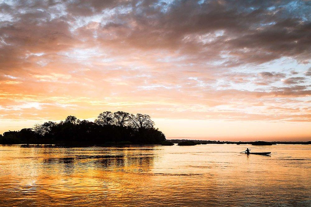 Four Thousand Islands, Southern Laos.