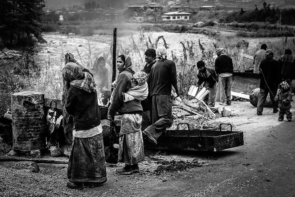 Road Construction Bhutan