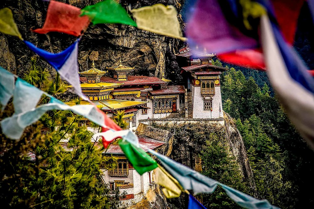 Paro Taktsang: The Tiger's Nest Monastery